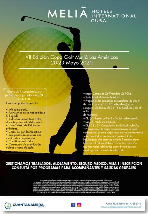 Copa Golf Meliá Las Américas 20-05-2020