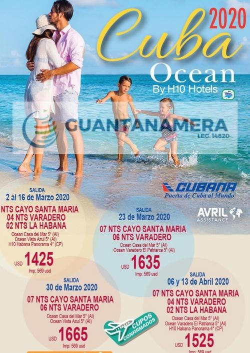 Cuba - Marzo y Abril con Ocean