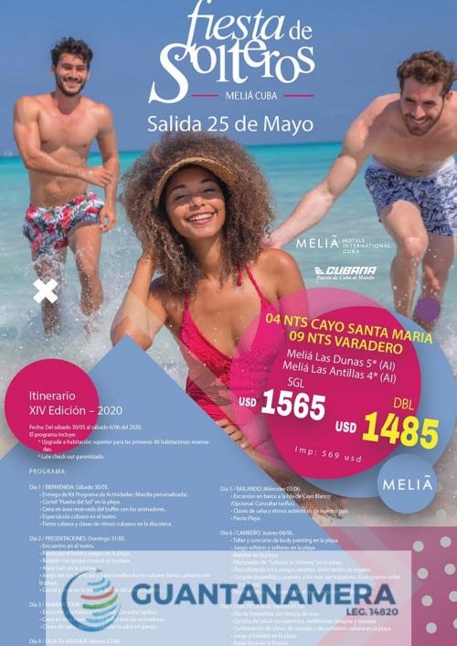 Fiesta de Solteros - 25 de Mayo de 2020